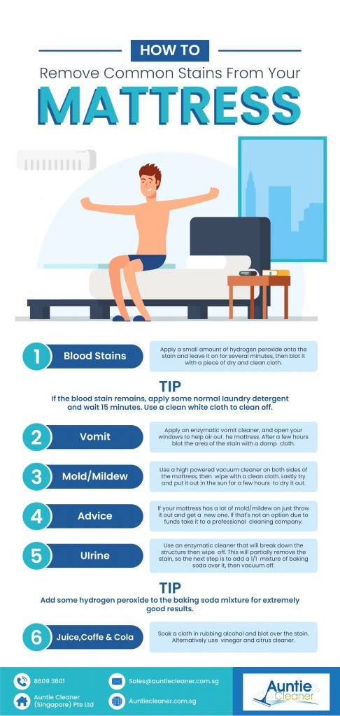 Infographic - Mattress Cleaning