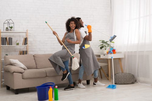 Add fun into cleaning